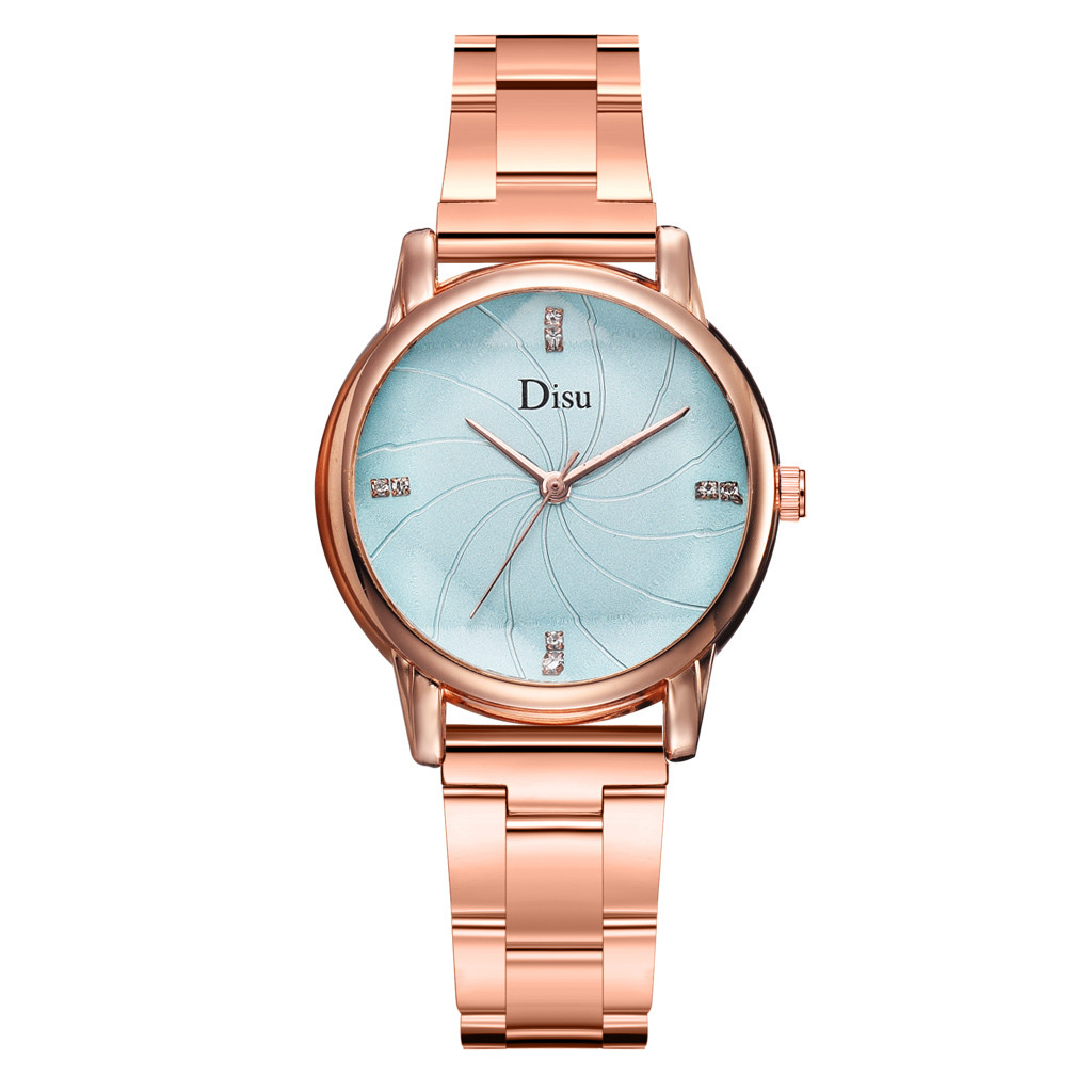Fashion Women Watches Spiral Shading Dial Ladies Quartz Wristwatch RoseGold Alloy Strap Girl Clock Gift часы женские 2020 /d