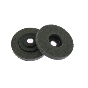Image 3 - 10 pieces 125/100mm Nylon Grinding Disc 7P 180# Flap Wheel for Metal Finish Wood Polishing on Angle Grinder