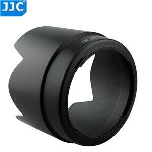 Image 5 - JJC Bajonet Zonnekap Shade voor CANON EF 70 200mm f/4L IS USM/EF 70  200mm f/4L USM vervang ET 74 vervangt ET 74
