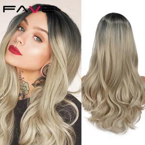 Image 2 - FAVE perruque synthétique mixte noire cendré Blonde
