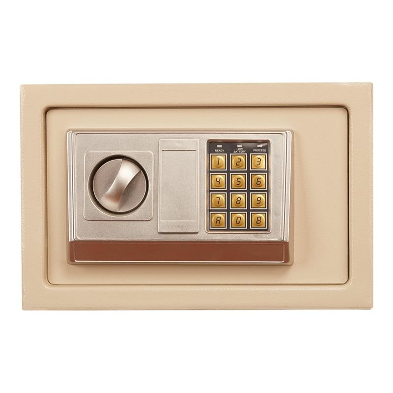 Image 3 - 디지털 암호 미니 안전 상자 드롭 현금 안전 상자 보석 홈 오피스 벽 유형 보안 경보 상자 도난 방지 안전 상자금고   -