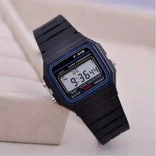 Женщины мужчины унисекс часы новинка спорт черный светодиод электронные военные наручные часы цифровой часы подарок подарок мужской дешевый Reloj Mujer