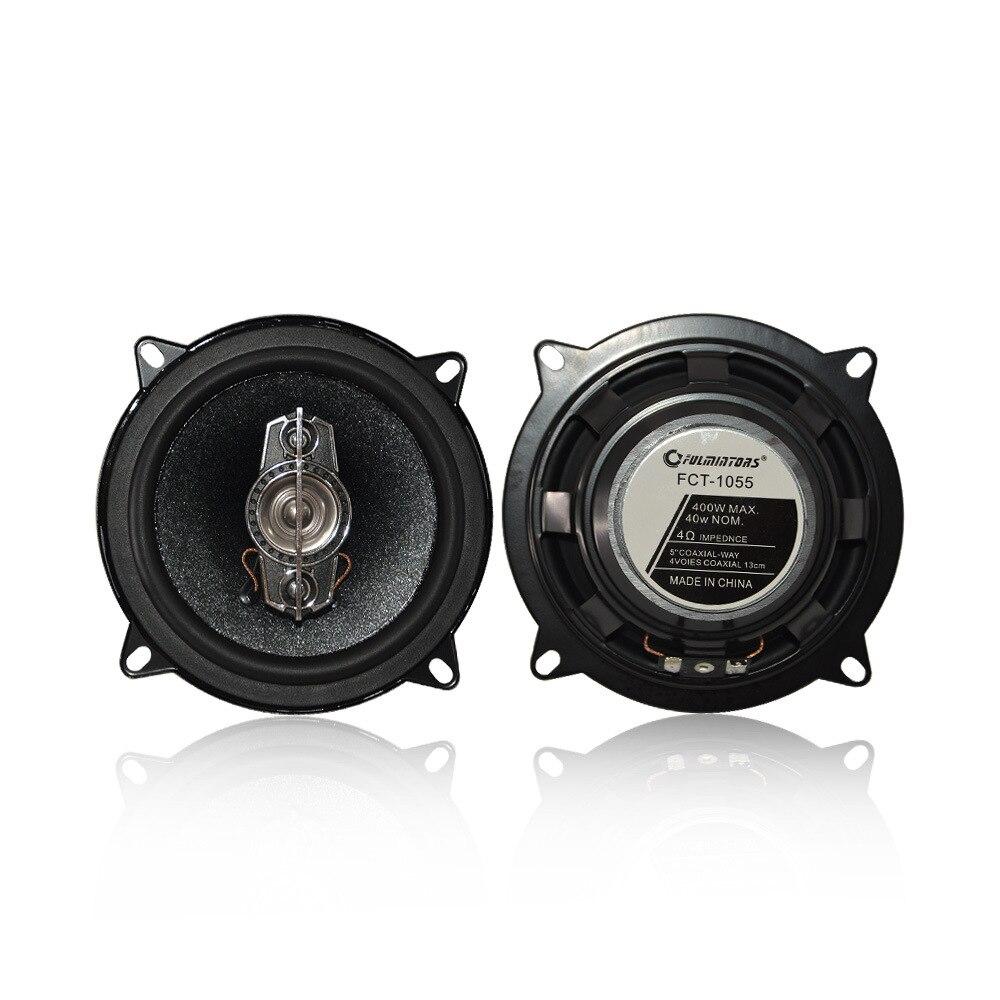 Haut-parleur coaxiale FCT5 de haut-parleur de voiture dans la poussée directe de l'hôte de véhicule basse modifiée
