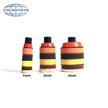 Kit de polissage pour perceuse, tampon de polissage 1 2 ou 3 pouces, comprenant le détail du plateau rouge M14, éponge à cirer, tampon polissoir pour voiture
