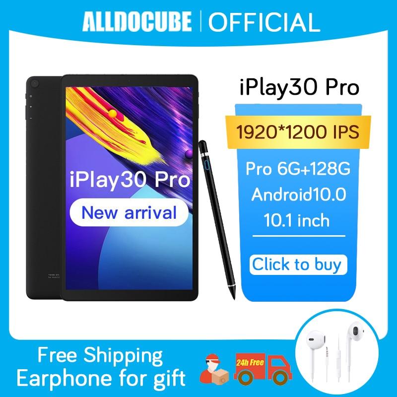 Alldocube – tablette PC de 10.5 pouces iPlay30Pro, avec Android 10, 1920x1200, P60 Octa Core, 6 go de RAM, 128 go de ROM, réseau téléphonique 4G, Dual Wifi