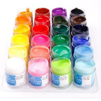 Degummed Gouache Paint Set 24 Colors Gouache Set Design Painting Examination Gouache Paint Pigment