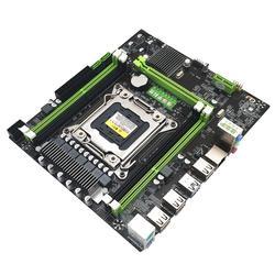 X79 E5 كمبيوتر مكتبي اللوحة الرئيسية LGA 2011Pin 4 قنوات RECC الألعاب اللوحة وحدة المعالجة المركزية منصة دعم i7 Xeon إنتل H61 P67