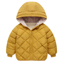Baby Girls Clothes 2019 Autumn Winter Boys Jackets For Kids Coats Warm Outerwear Hooded Coat Children Jacket For Girls Clothes цена и фото