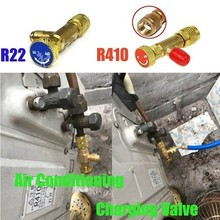"""""""Copper Air Conditioning Charging Adapter For R22/R410A 1/4\\\"""""""" Safety Valve SET Air Conditioner Parts Home Appliance Parts"""""""