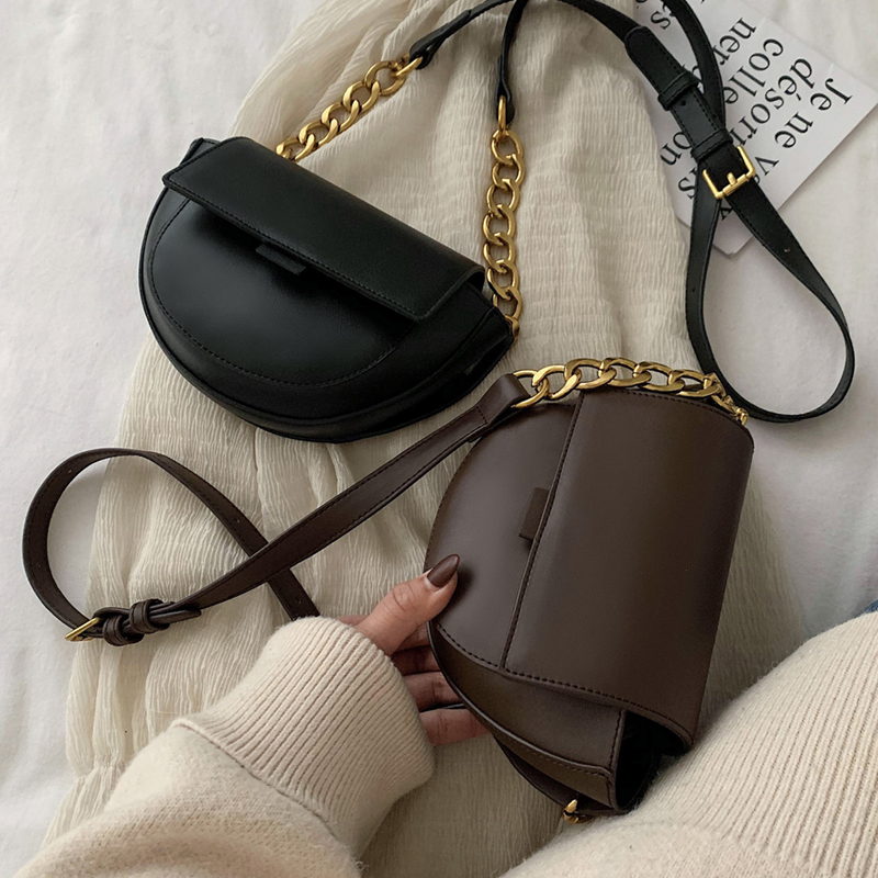 Travel Bags PU Leather Chain Design Crossbody Bags Women Small Chain Handbag Small Bag Hand Bag Ladies Designer Evening Bags