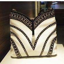 2020 nowych moda diament kobiet torebki ze skóry lakierowanej torba na ramię Crossbody Rhinestone o dużej pojemności pakiet Messenger torby