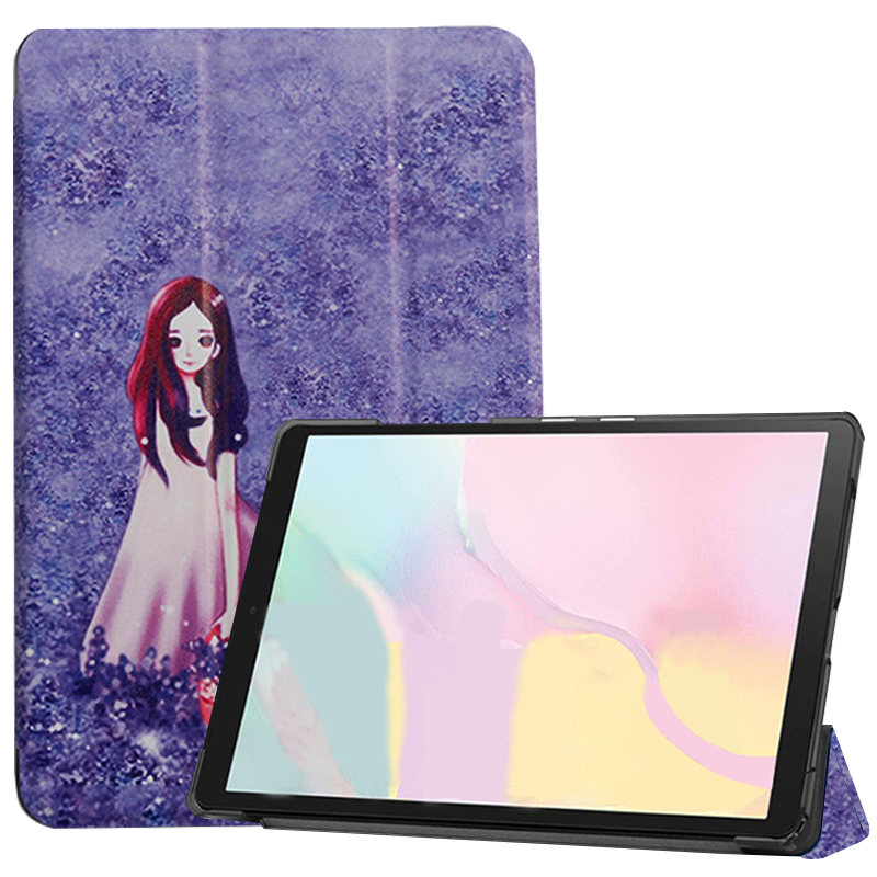lavender Champagne Case ipad Pro 11 2021 A2301 A2459 case PU Leather Tri fold ebook Case Tablets Sleeve