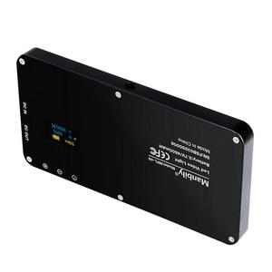 Image 2 - Manbily MFL 06 3000 6500K Đèn LED Mini Video Camera Đèn Âm Trần 96 LED Chụp Ảnh Chiếu Sáng Đèn Dành Cho Máy Ảnh DSLR Canon nikon Pentax