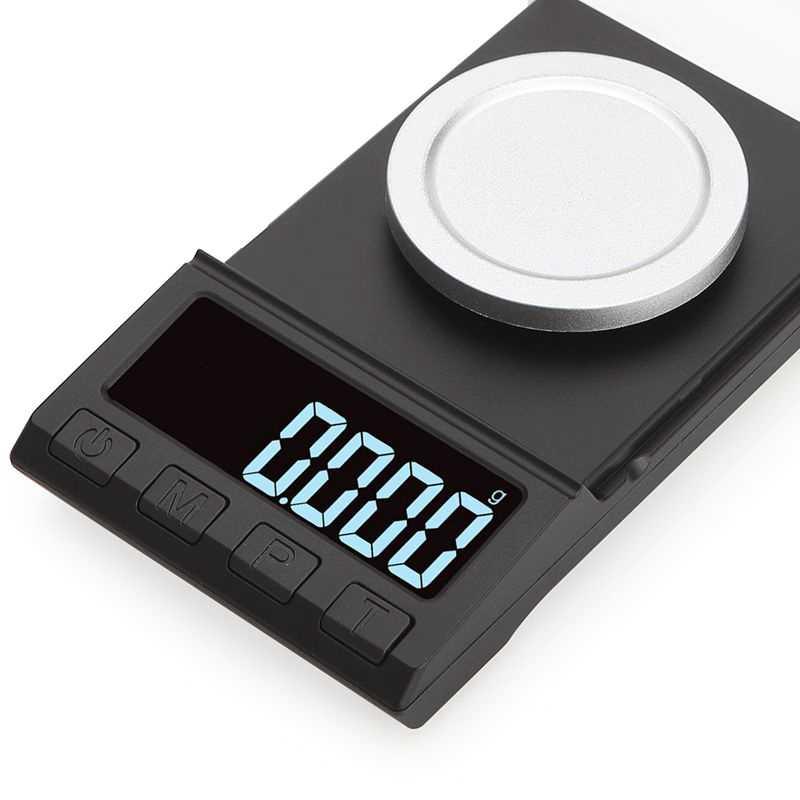 0.001G Màn Hình Kỹ Thuật Số LCD Tính Caro Quy Mô 100G 50G 20G Cân Điện Tử Trang Sức Dược Liệu Di Động Phòng mầm Cân Bằng Trọng Lượng