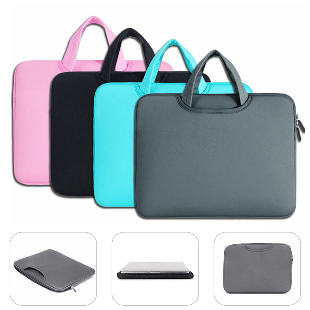 KISSCASE <font><b>Laptop</b></font> Bag <font><b>Case</b></font> for Macbook Air Pro Retina 13 15 <font><b>Laptop</b></font> Sleeve <font><b>15.6</b></font> Notebook Bag For Dell <font><b>Acer</b></font> Asus HP Business Handbag image