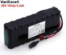 VariCore е байка 36В 5.2Ah 10S2P 18650 Перезаряжаемые батарейный блок 5200 мАч, изменение велосипеды, электрическое транспортное средство 42В защиты печатной платы
