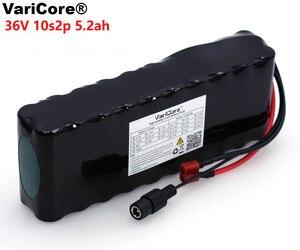 Image 1 - Varicore 36v 5.2ah 10s2p 18650 bateria recarregável 5200mah, bicicletas modificadas, veículo elétrico 42v proteção pcb