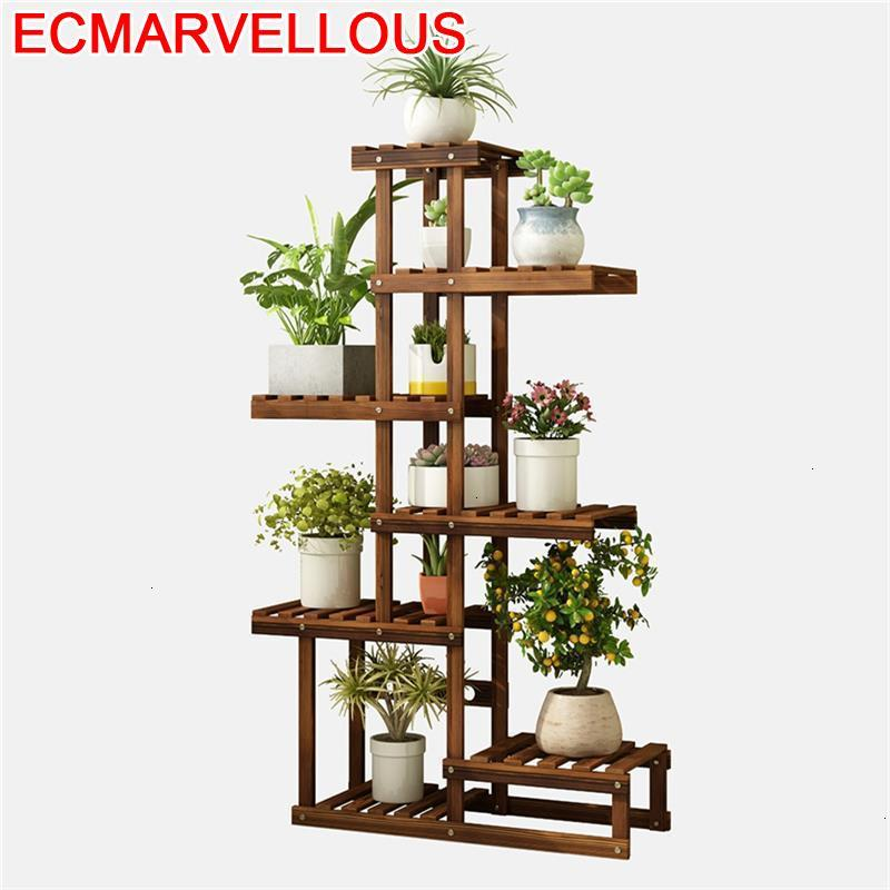 Soporte Interior Estanteria Mueble Repisa Para Plantas Stojak Na Kwiaty Outdoor Rack Balcony Flower Shelf Plant Stand