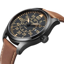 Watches Mechanical-Watch Pilot Chronograph Explorer Parnis Air-Force Chinese Clock Sapphire