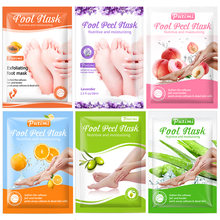 Putimi 6packs foot mask exfoliating spa bath removes calluses