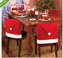 Christmas Decorations Christmas Bar Chairs Set Christmas Hats Christmas Daily Necessities Bar Stools Navidad  Barstool