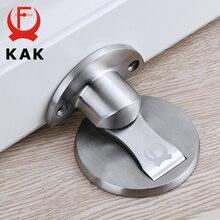 KAKแม่เหล็กประตู304สแตนเลสประตูซ่อนผู้ถือประตูจับชั้นเล็บDoorstopเฟอร์นิเจอร์ฮาร์ดแวร์