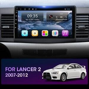 """Image 3 - Vtopek 10.1 """"4G + 64G DSP 2din Android 10.0 samochodowe Radio odtwarzacz multimedialny dla Mitsubishi Lancer 2007 2012 nawigacja GPS jednostka główna"""