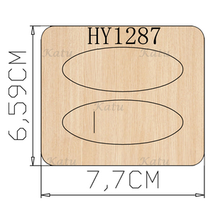 Image 5 - Hair clip cutting dies 2020 new die cut &wooden dies Suitable  for common die cutting  machines on the market