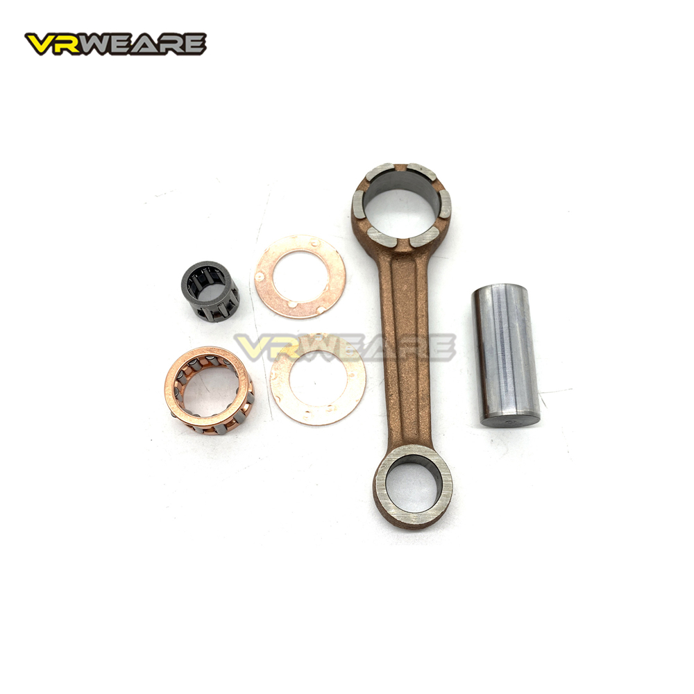 3KJ JOG50 производительность коленчатого вала шатун для 10 мм поршневого штифта для 2-тактного 50cc скутера ATV Minarelli 1E40QMB 1PE40QMB