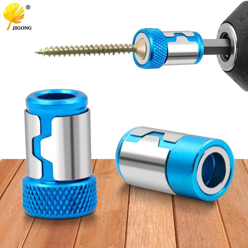 Universal Magnetic แหวนโลหะผสมแหวนแม่เหล็กไขควง Bits ป้องกันการกัดกร่อนที่แข็งแกร่ง Magnetizer เจาะแหวนแม่เหล็...
