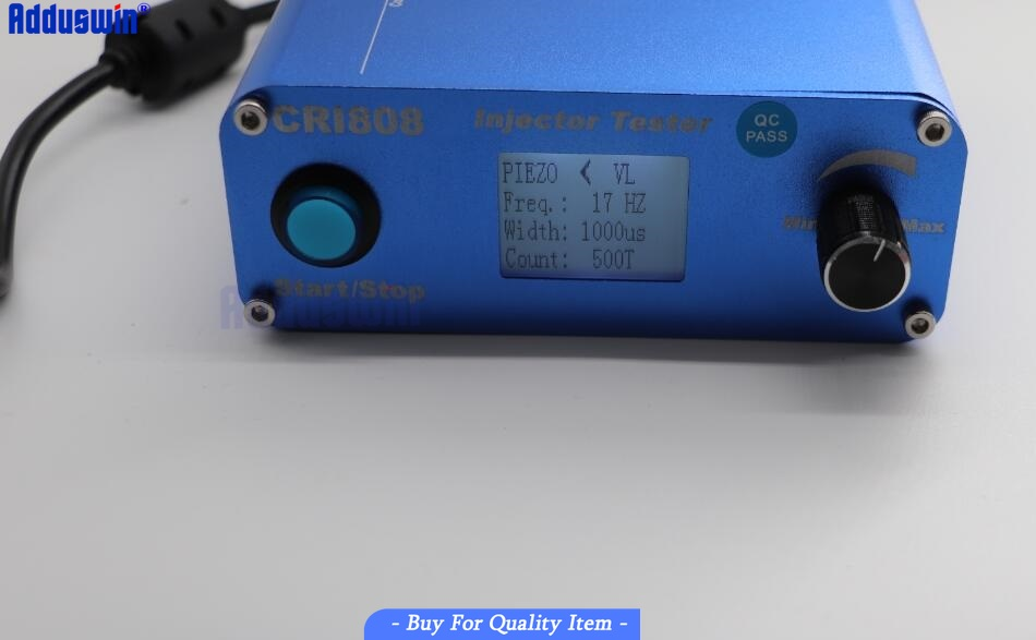 Image 4 - Free Shipping CRI808 Multifunction Diesel common rail injector tester support electromagnetic and piezo bluetooth injector tools-in Engine Analyzer from Automobiles & Motorcycles