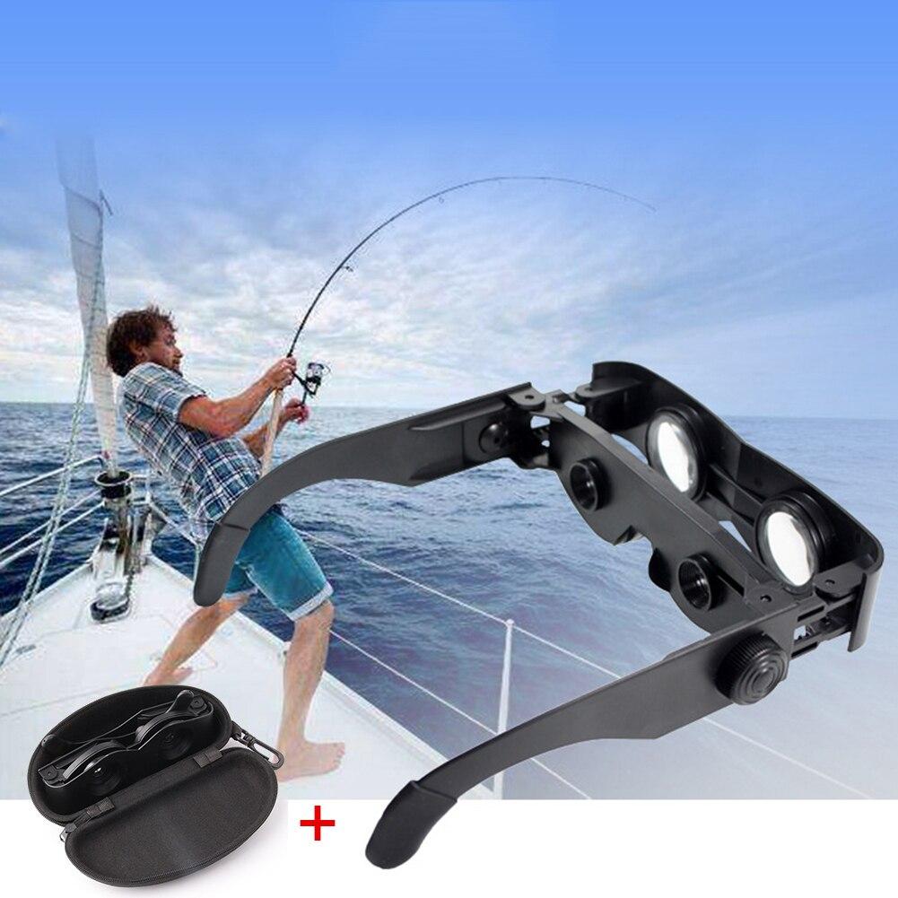 Jumelles portatives style loupe télescope pour la pêche