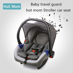 2019 Original Babyfond asiento de coche para bebé cesta portátil para Recién Nacido asiento de seguridad cuna de coche para recién nacidos con adaptador de uso cochecito de mamá caliente