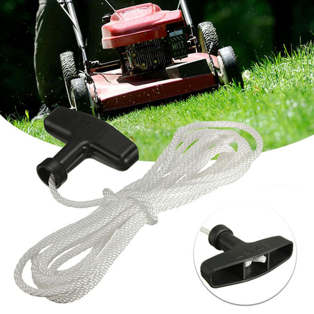 3m Universal Lawn Mower Durable Rope Engine Recoil Start Line Trimmer Pull Handle Cord