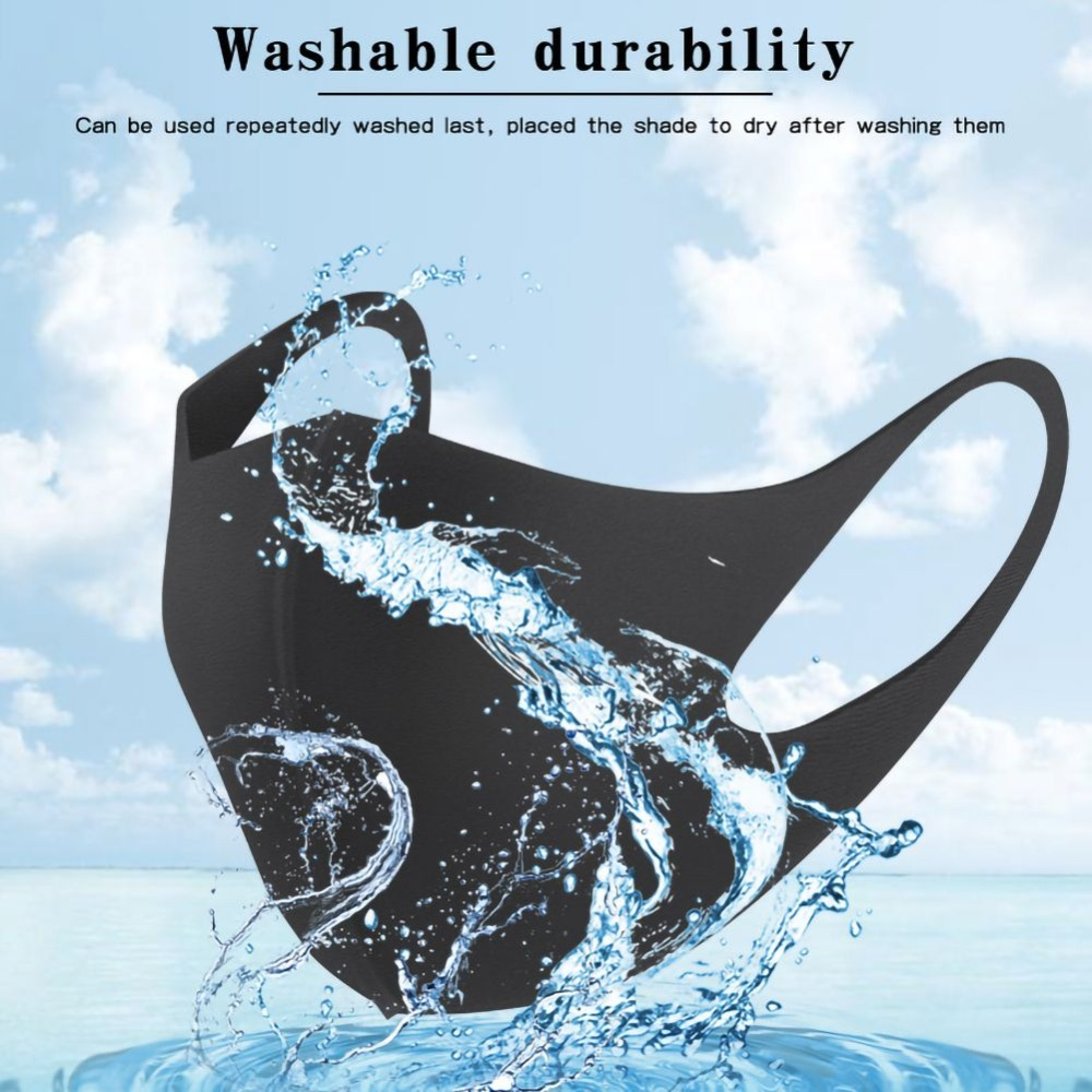 1 pc Washable Unisex Mouth Mask Universal Pollution  Anti Air Dust Flu Smoke Mask With Earloop Respirator Safety Mask Equipments 1