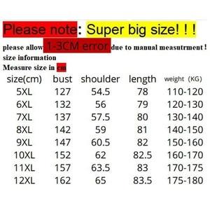 Image 5 - 남자의 큰 크기 까마귀 큰 크기 운동복 5XL 6XL 7XL 8XL 9XL 10XL 11XL 12XL 긴 소매 느슨한 따뜻한 소년 운동복