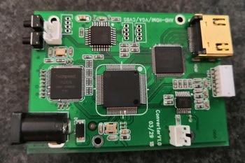 HD video converter module AHD to HDMI coaxial 1080P 4-in-1 TVI / CVI to VGA / CVBS