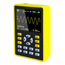 2.4-inch Screen Digital Oscilloscope 100MHz Analog Bandwidth Support Waveform Storage 500MS/s Sampling Rate