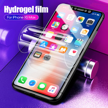 10D Full Cover Soft Hydrogel Film For iphone 11 Pro XS Max XR X Screen Protector On the 7 8 6 6S Plus Not Glass