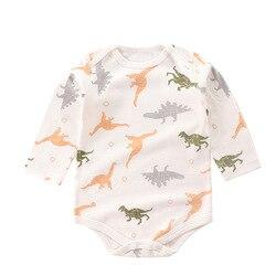 2020 для детей ясельного возраста; Сезон весна-осень новая детская одежда для маленьких мальчиков и девочек, симпатичное нижнее белье с мульт...