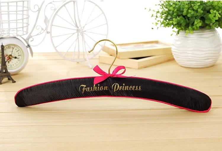 Hanger Wereld Top Kwaliteit Fashion Queen Pastel Satin Padded Hangers Voor Lingerie (16 Stuks/partij) - 3