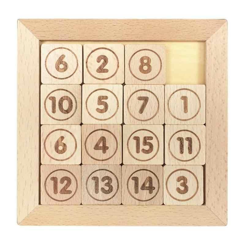 15 azulejos deslizantes juego de matemáticas IQ desarrollo
