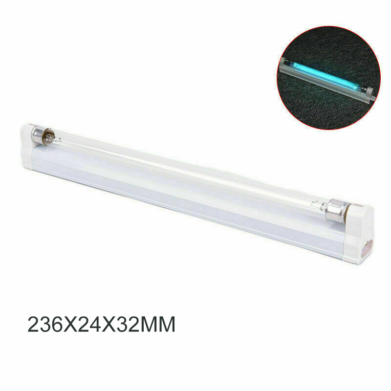 6W Germicidal Light G5 Round Tube UVC Sterilizer Kill Dust Mite Eliminator UV Ozone Lamp For Bedroom /Hospital|Ultraviolet Lamps| |  - title=
