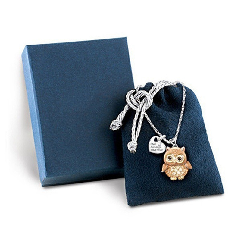 Owl always love you necklace 1