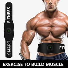 Intelligent LED Digital Display EMS Micro Current Abdominal Muscle Sticker Fitness Belt Home Exercise Muscle Training Device
