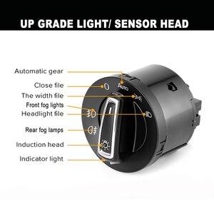 Image 5 - 1 piece New AUTO Headlight Head Lamp Switch Light Sensor Module Upgrade For VW Golf Jetta MK5 6 Tiguan Touran Passat Polo Bora