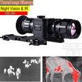 Thermal Image Riflescope Infrared Night Vision riflescope Hunting Trail Sight Scope IR Cam NV Mocular Thermal Imaging Riflescope
