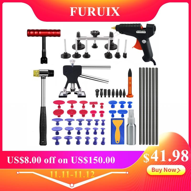 Pdr Tools Vehicle Dent Repair Car Body Dents Car Dent Repair Tools Puller Suction Cups Glue Gun Reverse Hammer Hand Tool