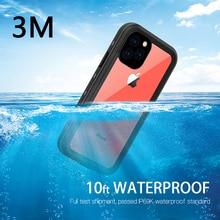 Redpepper IP69K للماء حالة ل فون 11 / 11 برو/11 برو ماكس XR XS ماكس تحت الماء 3m المياه واقية حالة صعبة للصدمات