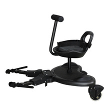 Standing-Plate Strollers-Pedal-Adapter Seat-Trolley Scooter Second Twins Universal Baby